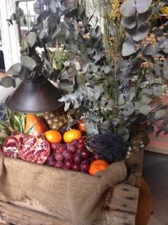 Flores y frutos