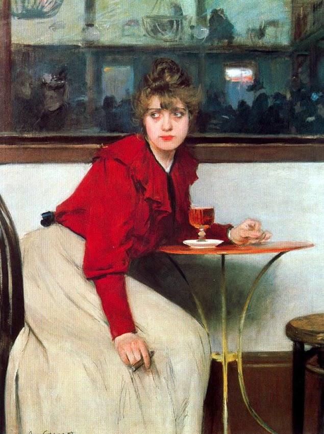 ramon casas i carbo_Madeleine-el ajenjo(absenta) 1892[6]