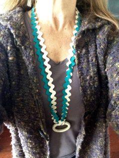 Collar ZIG ZAG MARFIL