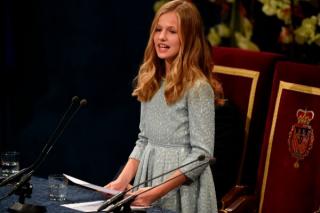 La heredera a la Corona se dirigió a los premiados  «que actúan para que el mundo sea mejor»